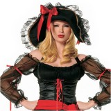 2Pc-Pirate-Of-The-Caribbean-Swashbuckler-Pirate-Sexy-Holiday-Party-Costume-BlackRedSmall-0-0