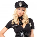 4Pc-Bad-Cop-Costume-Includes-Dress-Tie-Hat-And-Waist-Cincher-BlackX-Small-0-3