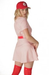 A-League-of-Their-Own-Rockford-Peaches-AAGPBL-Baseball-Womens-Costume-Dress-XXL-DELUXE-0-2