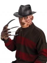 A-Nightmare-On-Elm-Street-Molded-Freddy-Krueger-Fedora-Brown-One-Size-0