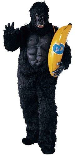 Adult Gorilla with Muscle Chest Costume