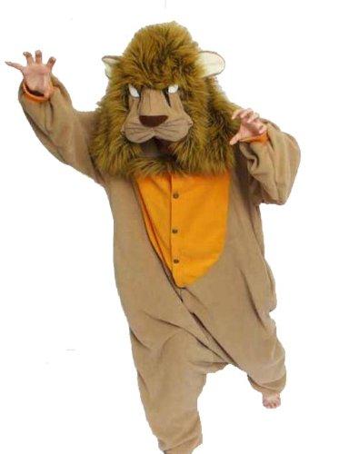 Adult Lion Animal Halloween Costume size Standard