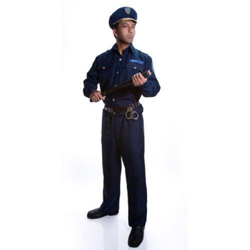 Adult Police Officer Costume Set – Large