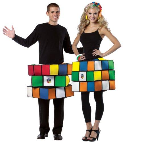Adult Rubik's Cube Costume – Large/X-Large