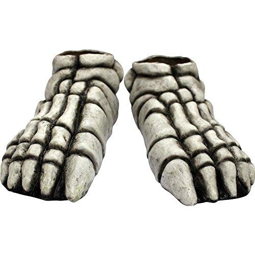 Adult Skeleton Feet White (Standard)