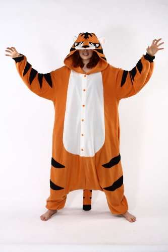 Adult Tiger Costume Pajamas