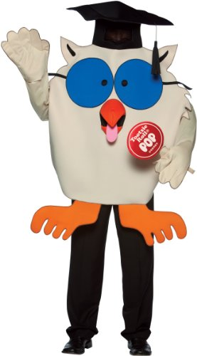 Adult Tootsie Roll Owl Costume