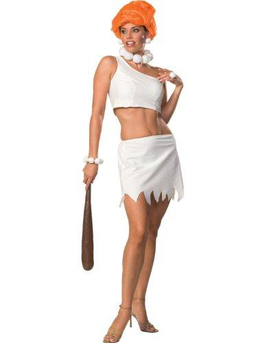 Adult Wilma Flintsone Costume by Rubies White XS