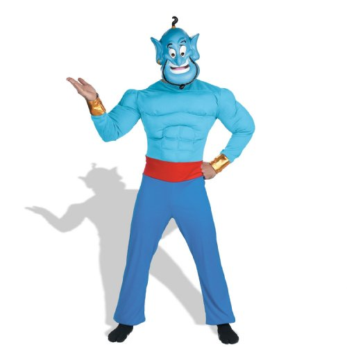Aladdin – Genie Adult Muscle Chest Costume