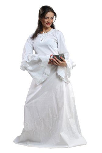 Armor Venue – Anne of Cleves Chemise – Renaissance Clothing Costume – White Large
