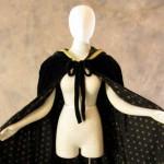 Artemisia-Designs-Lined-Black-Velvet-Cloak-with-Gold-Fleur-De-Lis-Pattern-0-14