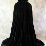 Artemisia-Designs-Lined-Black-Velvet-Cloak-with-Gold-Fleur-De-Lis-Pattern-0-8