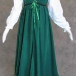 Artemisia-Designs-Medieval-Renaissance-Gown-Dress-and-Chemise-Green-Medium-0-5