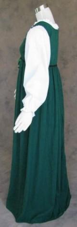 Artemisia-Designs-Medieval-Renaissance-Gown-Dress-and-Chemise-Green-Medium-0-8