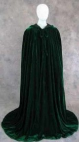 Artemisia-Designs-Renaissance-Lined-Velvet-Cloak-Dark-Green-and-Black-One-Size-0-11