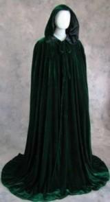 Artemisia-Designs-Renaissance-Lined-Velvet-Cloak-Dark-Green-and-Black-One-Size-0-9