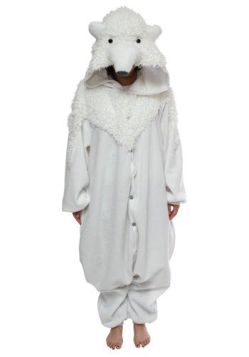 Bcozy-Polar-Bear-Onesie-White-One-Size-0
