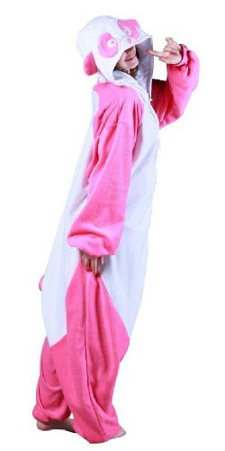 Bcozy Women's Panda Adult Sized Costumes, Pink/White, Standard