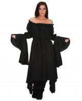 Black-Gypsy-Renaissance-Pirate-Chemise-Top-Medieval-Peasant-Costume-SC88527B-XL-0-0