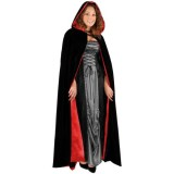 Black-Velvet-Full-Length-Cape-with-Hood-Costume-0-0