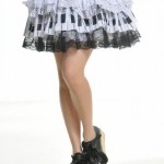 Blooms-Punk-Rock-Ruffle-White-Lace-Skirts-One-Size-61106W-0-4