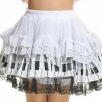 Blooms-Punk-Rock-Ruffle-White-Lace-Skirts-One-Size-61106W-0-6
