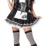 California-Costumes-Dreadful-Doll-Set-BlackWhite-Medium-0-0