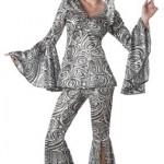 California-Costumes-Foxy-Lady-Set-BlackSilver-X-Large-0-0