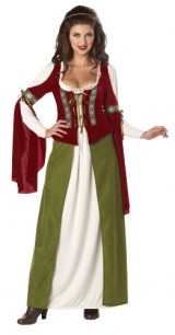 California-Costumes-Maid-Marian-Dress-RedOlive-X-Large-Costume-0-0