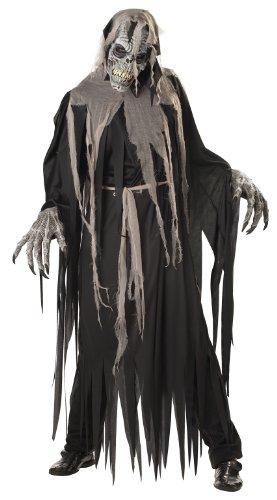California Costumes Men's Crypt Crawler Costume, Black/Grey,Large