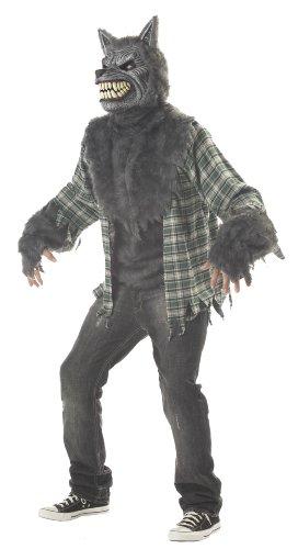 California Costumes Men's Full Moon Madness Costume,Grey/Green,Large