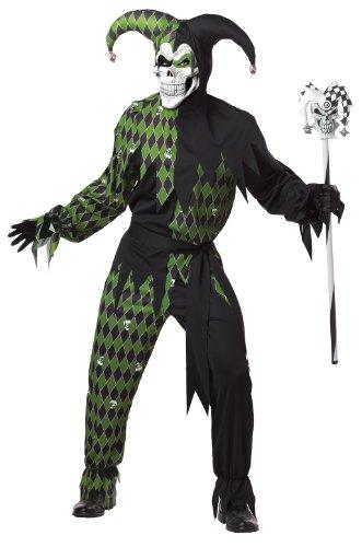 California Costumes Men's Jokes On You! Adult, Black/Green, X-Large