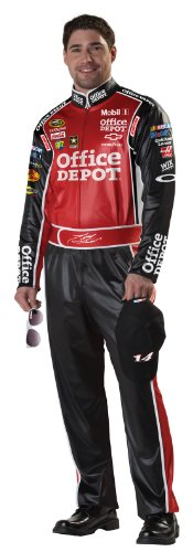California Costumes Nascar Tony Stewart, Red, Large Costume