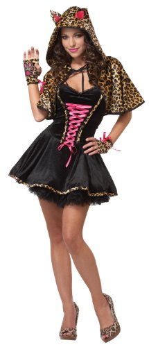 California Costumes Petite The Cats Meow, Black/Tan, Large Costume