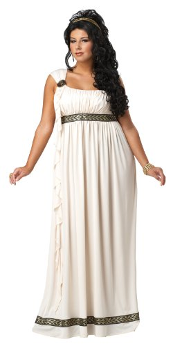 California-Costumes-Plus-Size-Olympic-Goddess-Dress-Cream-1XL-16-18-Costume-0-0