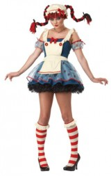 California-Costumes-Rag-Doll-Dress-NavyWhite-11-13-Costume-0-0
