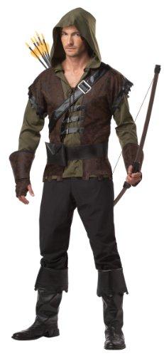 California Costumes Robin Hood Adult Costume, Olive/Brown, Medium