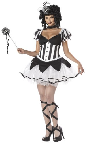 California Costumes The King's Delight Set, Black/White, Small
