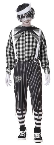 California Costumes Tragedy Andy, Black/White, X-Large Costume