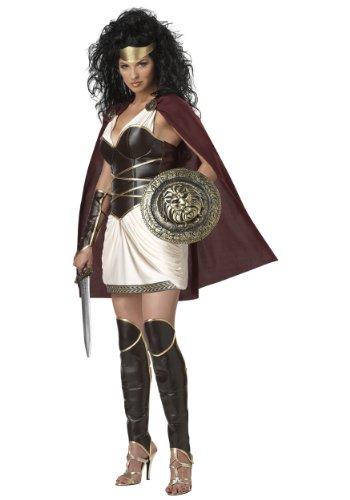 California Costumes Warrior Queen Set, Multicoloured ,  Medium  (8-10)
