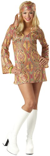 California-Costumes-Womens-Adult-Disco-Dolly-Multi-M-8-10-Costume-0-0