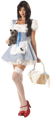 California Costumes Women's Adult-Storybook Sweetheart, Blue/White, S (6-8) Costume