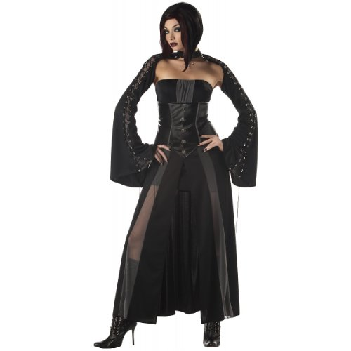 California Costumes Women's Baroness Von Bloodshed Costume, Black/Grey,Medium