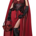 California-Costumes-Womens-Dark-Red-Riding-Hood-Adult-Red-X-Large-0-0