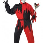 California-Costumes-Womens-Evil-Jester-CostumeBlackRedP-48-52-0