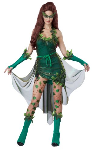 California Costumes Women's Eye Candy – Lethal Beauty Adult, Green, X-Large