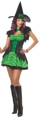 California Costumes Women's Hocus Pocus Costume, Black/Green-Large