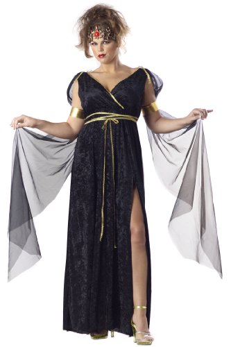 California Costumes Women's Medusa Costume, Black, 2XL (18-20)