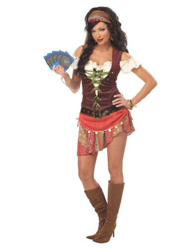 California Costumes Women's Mystic Gypsy Costume,Multi,Small