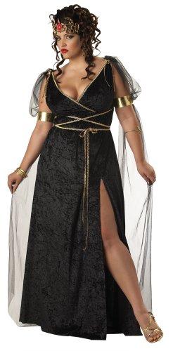 California Costumes Women's Plus-Size Medusa Plus, Black, 1X